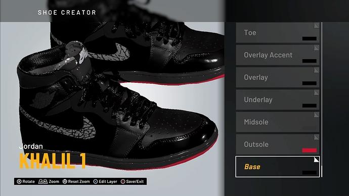 2k20 Shoe Creator - MyCAREER | Park